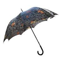 Astonishing Original Piero Fornasetti Umbrella