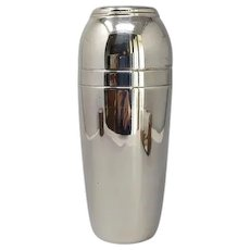 1960s Astonishing Space Age MEPRA Cocktail Shaker in Stainless Steel. Made in Italy