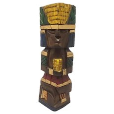 1970s Beautiful Ethnic Sculpture in Wood