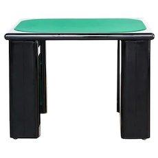 Game Table designed by Pierluigi Molinari for Pozzi Milano, Italy 1970s