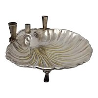 Silver Plated Candleholder, 1930s