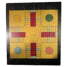 Double Sided Parcheesi Game Board