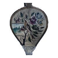 19th C. Bird and Flowers Folk Art Decorated Bellows