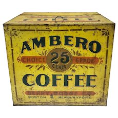 Ambero Coffee, Country Store Counter Display