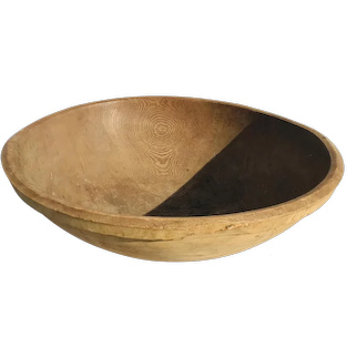 New England Turned Wooden Bowl