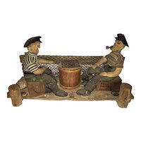 A New England Folk Art Nautical Sculpture