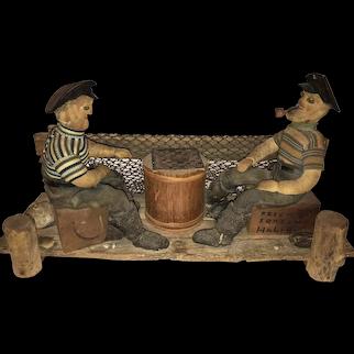 A New England Folk Art Nautical Sculpture