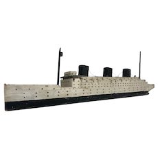 Steamship Model: One Stack Short of the Titanic