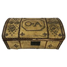Dome Top, Brass Tacked Trunk