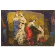 Five Figures By Martin Friedman  (1896 - 1981)