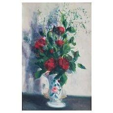 Petit Bouquet Rouge by Gaston Sebire  (1920 - 2001)