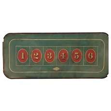 Chuck-a-Luck Gambling Board Game