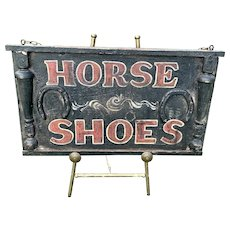 Horse Shoes Sign