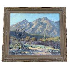 """""""South West Desert Landscape"""" Painting"""