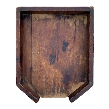 Primitive Wood Drainboard