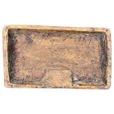 Gansu Wood Meat Tray