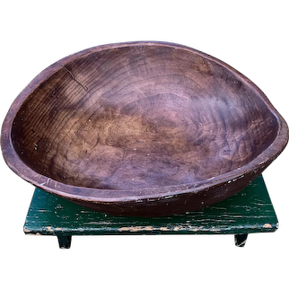 Primitive Walnut Bowl