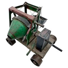 1930's Buddy L Toy Cement Mixer