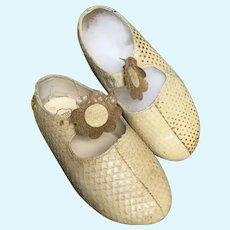 Hildegard Gunzel Doll Shoes For Her Original WOP Dinah & Pepe