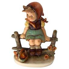 """Vintage Goebel Hummel """"Just Resting"""" figurine. #112 /I TMK 3"""