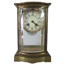 French Bronze Regulator Clock