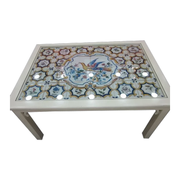Portuguese Tile Panel Coffee Table