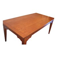 Solid Cherry Extension Farm Table