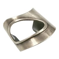 Art Smith Sterling Cuff Bracelet