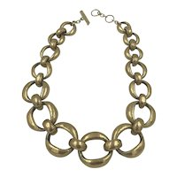 Steve Vaubel Rounded Chunky Chain Necklace