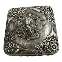 Sterling Silver Box George Nathen & Ridley Hayes c1902