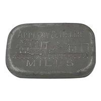 Helme Railroad Mills Co. Tobacco Snuff Tin