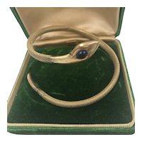 Rodi & Wienenberger Art Deco Snake Bracelet