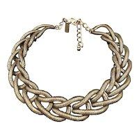 Oscar de la Renta Statement Collar Necklace