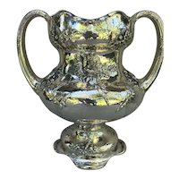 Monumental Art Nouveau Sterling Silver Trophy Cup by Black Starr & Frost - Circa 1901.