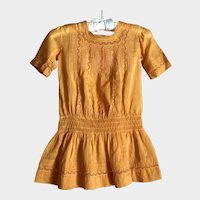 Antique Heirloom Edwardian Toddler Dress