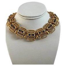 DeLillo 3pc. Set / Choker Necklace Bracelet Earrings