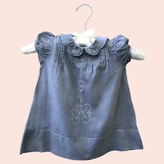 Antique Heirloom French Infant Baby Dress