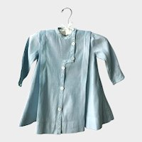 Antique Edwardian Baby Blue Childs Coat