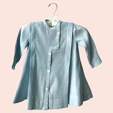 Antique Edwardian Baby Blue Childs Coat