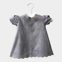 Antique Heirloom French Baby Dress