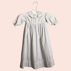 Antique Heirloom Baby Nightgown