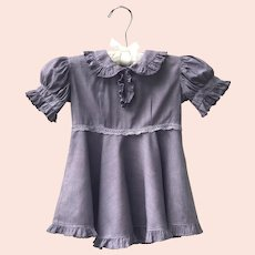 Vintage 1930's Cotton Toddler Dress