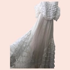 Re-Worked Antique Wedding Dress 19th Century Dress Antique Lace