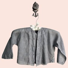 Antique French Kimono Style Baby Jacket