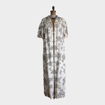 Vintage Beaded 'Mignon' Opera Coat Bridal Dress  Wedding Coat Embellished Dress