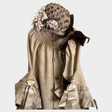 Antique  Victorian Child's Winter Cape
