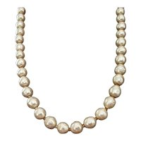 Judith McCann's Luscious Baroque Pearl Necklace