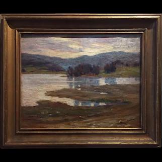 Pennsylvania Impressionist Landscape - Oliver Boyce Judson, ca. 1910