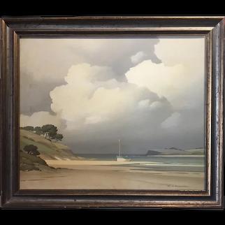 Pierre De Clausade - Oil on Canvas, 1970. Cote Bretonne