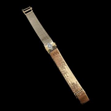 Vintage 18K gold Rolex bracelet/watch